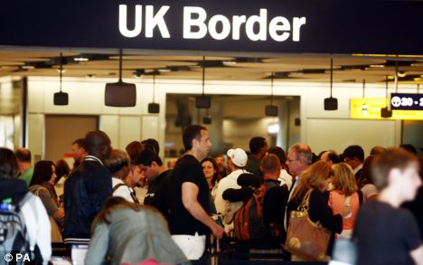 Spike: Bulgarians and Romanians are set to gain unrestricted access to the UK