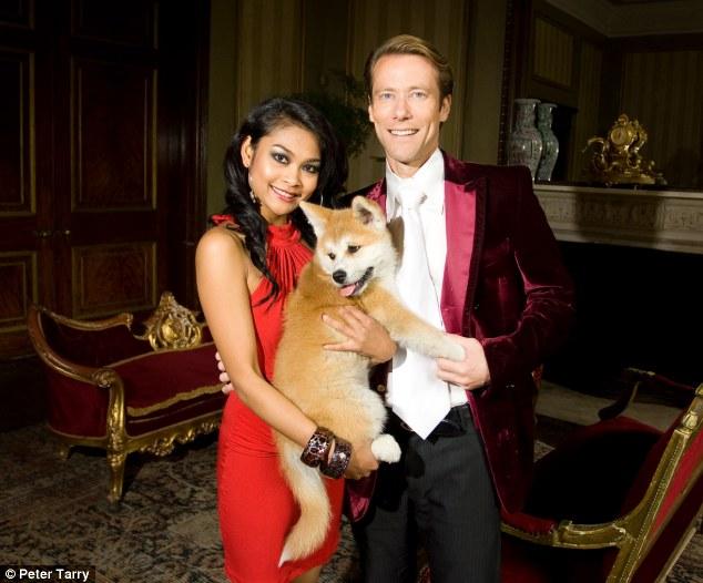 'Fast Eddie': Edward Davenport pictured with his Thai girlfriend Monthira Sanan-Ua