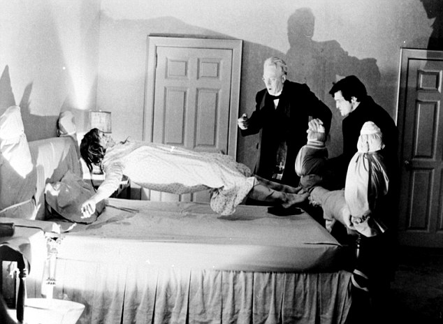 Horror: The controversial 1974 film The Exorcist was at number three in the list