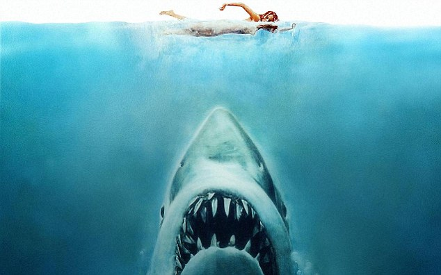 Runner-up: Steven Spielberg's 1975 classic Jaws was the second best thriller for calorie busting, scientists found