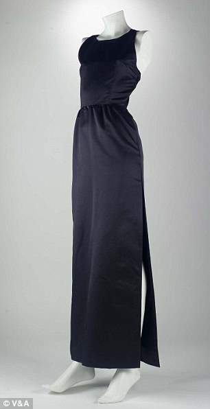 The dress worn by Audrey Hepburn in Breakfast at Tiffany's