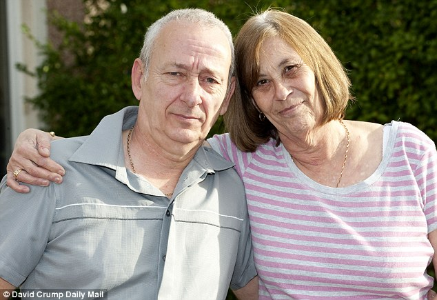 Margaret was put on the controversial pathway in December 2010 but her family, including Margaret's daughter Annette and her husband Graham (pictured) demanded she was taken off it and nearly two years later she is still alive