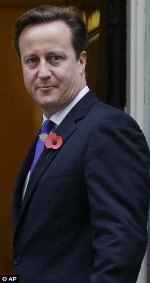 David Cameron is under growing pressure to take a tougher line on budget increases for the EU