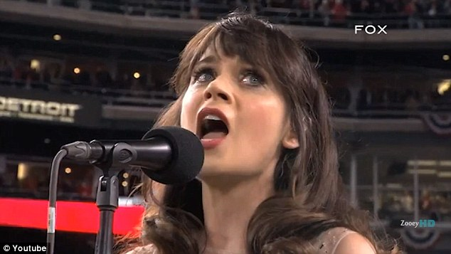So talented: Zooey has released two albums as part of the She & Him duo with M. Ward