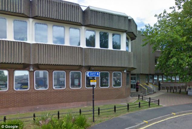 The married mother of two was said to break down in tears after she appeared at Merthyr Tydfil Crown Court