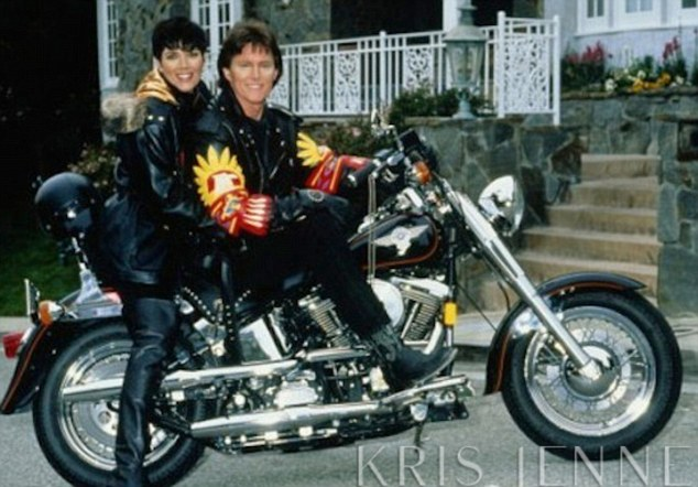 Memories! Kris Jenner tweeted this picture of her and Bruce back in the early days of their courtship
