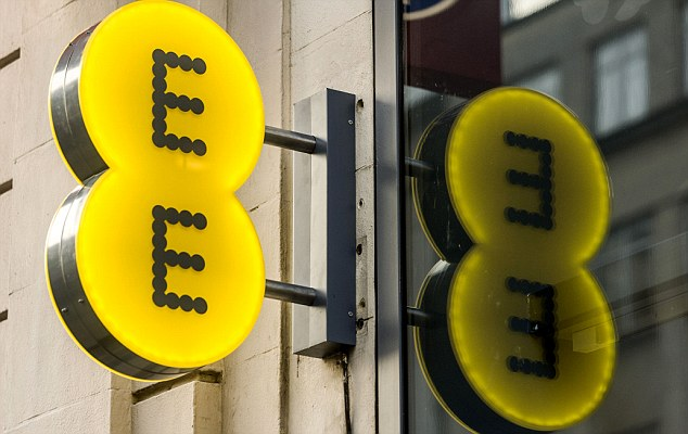 New era: EE recently launched its superfast 4G mobile internet service - but will face competition from May next year, Ofcom has revealed.