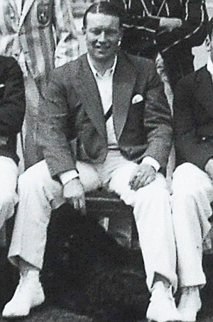 Distinguished: Walter Beisiegel was a daredevil flyer, county cricketer, and post-war air attaché at the British embassy in Buenos Aires, later promoted to Air Commodore