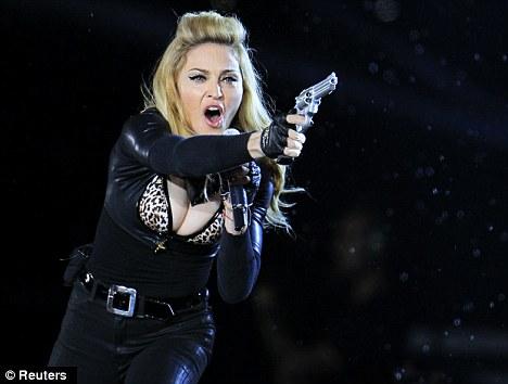 She shoots, she scores: Madonna or victory over Aston Villa - it's a tough choice