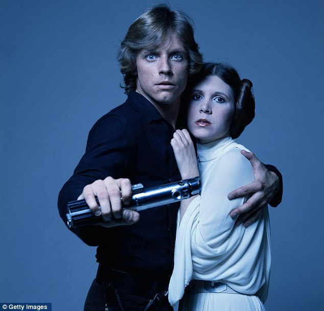 The original: Mark Hamill and Carrie Fisher as Luke Skywalker and Princess Leia, it's a fear that she may now become a Disneyfied princess
