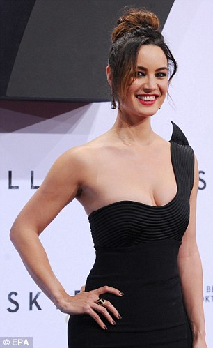 Double-o heaven: Looking positively stunning, the French actress proved her transformation into 007 beauty was complete