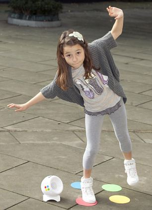 12. Natalya Wallace, aged 10, with Twister Dance, £26.99