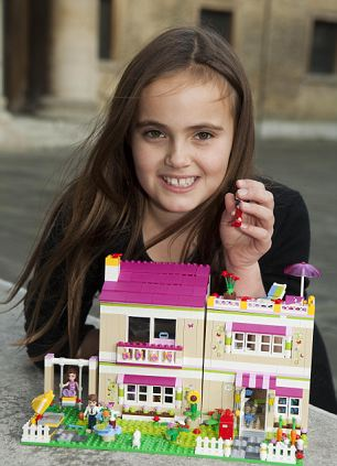 6. Isabella Redmond, aged 9, plays with Lego Friends: Olivia's House, £69.99