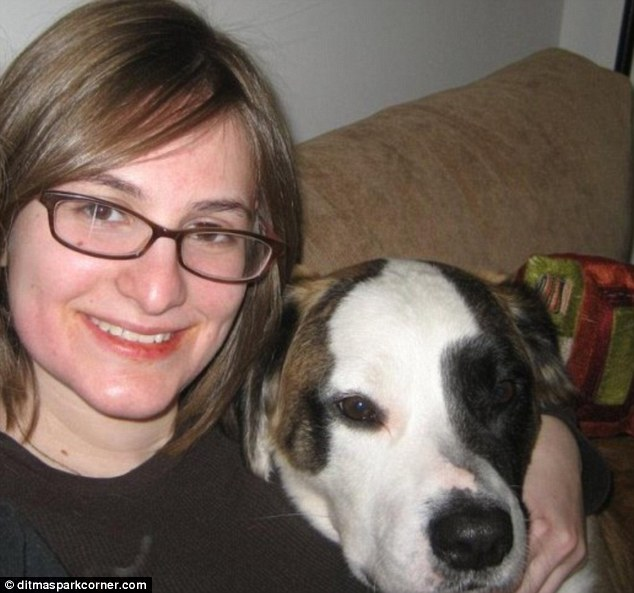 Dog lover and political activist: Jessie Streich-Kest was killed by a falling tree when our walking her dog, Max