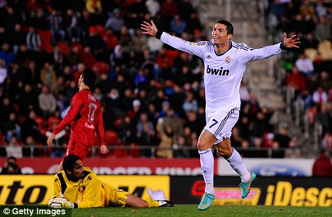 All smiles? Ronaldo has endured a tricky relationship with his club this season