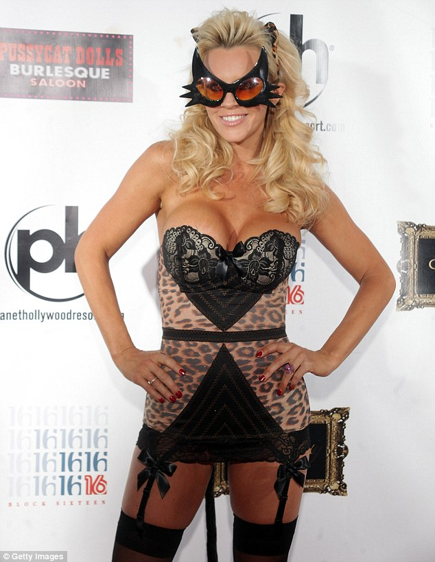 Sizzling: Jenny seemed to have a great time in Las Vegas as she celebrated coming into her forties