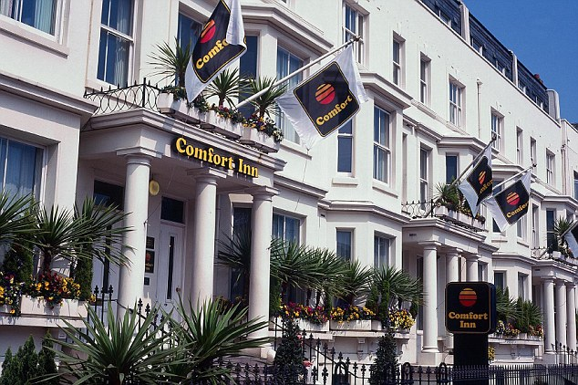 Sleep tight: Comfort Inn has come bottom of a poll of the UK's best and worst hotel chains by Which? Magazine