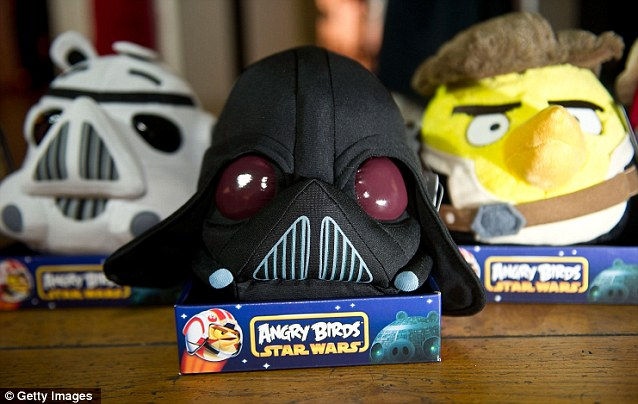 Star Wars Angry Birds on display for the first time today