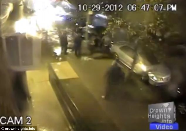 Police could not find the thugs responsible for the attack which has horrified the tight-knit Jewish community in Crown Heights