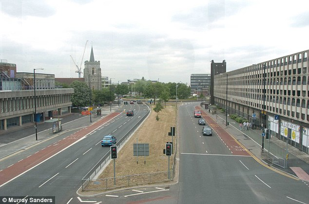 Drab: Slough was portrayed as a dreary suburban town in the hit series The Office