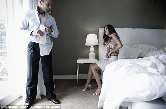 For women, it's their naughty forties when their eyes wander but for misbehaving men it's their fifties