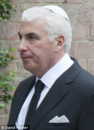 Saddened: Amy Winehouse's father Mitch (pictured at her funeral) says he has been left sickened by the thefts