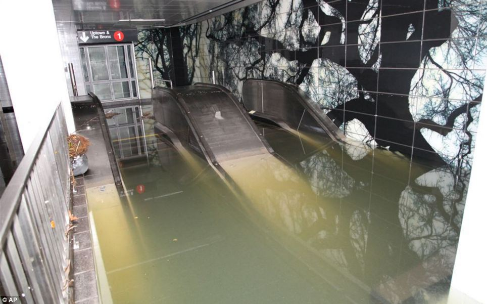 Big job: The city's deepest tunnels remain submerged