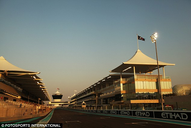 All set: The Yas Marina Circuit is ready to stage its fourth Formula One grand prix