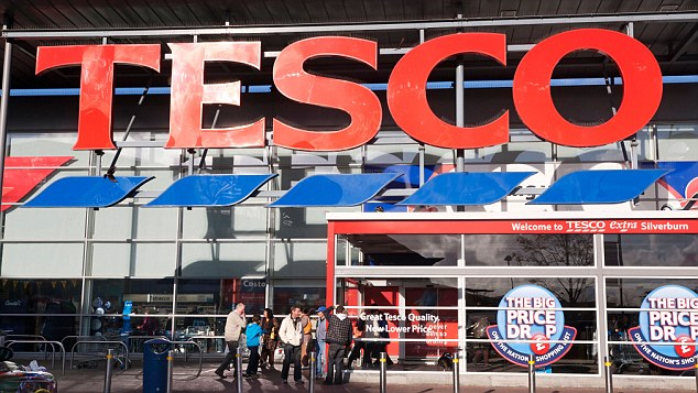 Glitch: Hundreds of Tesco shoppers have been cashing in on the mistake
