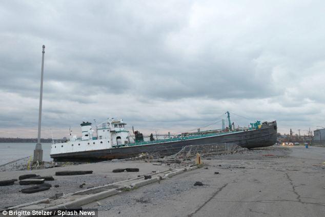 Run aground: The devastating aftermath of Hurricane Sandy in Staten Island, New York