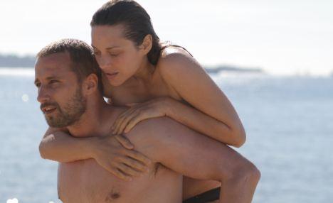 Oscar-quality: Matthias Schoenaerts and Marion Cotillard who star in Rust & Bone, a French romantic drama