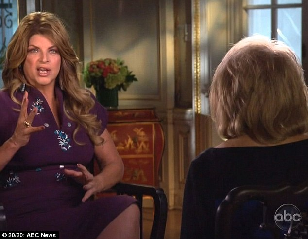 Revealing: Kirstie Alley confesses to Barbara Walters in a new 20/20 interview that John Travolta was the 'love of my life'