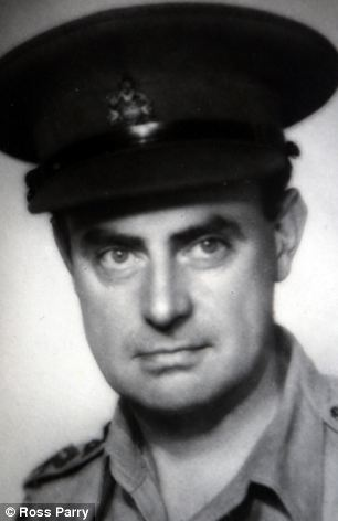 Reg Dean in the 1940's during his time in the British army