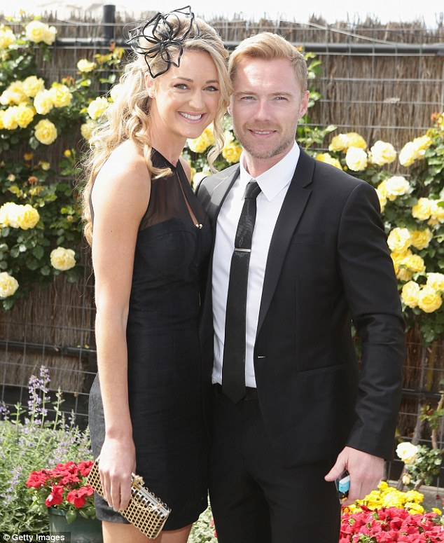 Stylish couple: Ronan and Storm went public with their romance earlier this summer, and seem to be very much enjoying the honeymoon period of their relationship