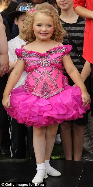 Hit show! Her TLC spin-off series, Here Comes Honey Boo, was just renewed and three specials are due to air for Halloween, Thanksgiving, and Christmas