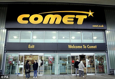 Comet: All stores should be staying open, a spokesman said