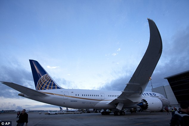 Ready for liftoff: Seen preparing to take off the aircraft sits with more than 200 customers on board