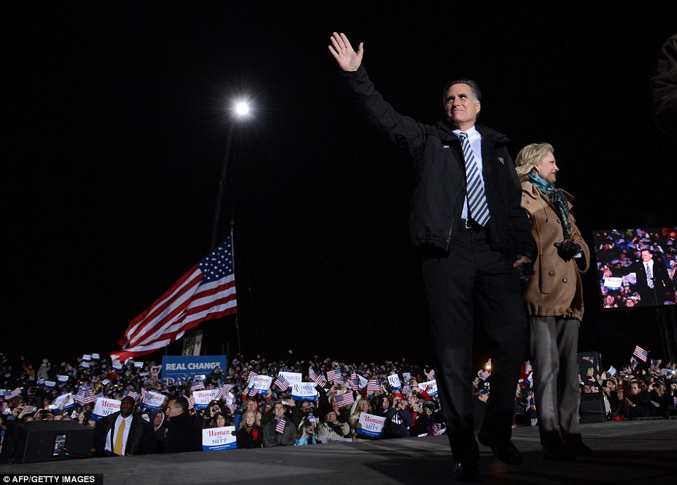 Last chance: Romney has visited Pennsylvania during the general election campaign, but has held only small events usually connected to a separate fundraising stop