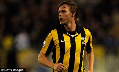 Feeling Blue: On loan Tomas Kalas has urged his parent club to sign Bony