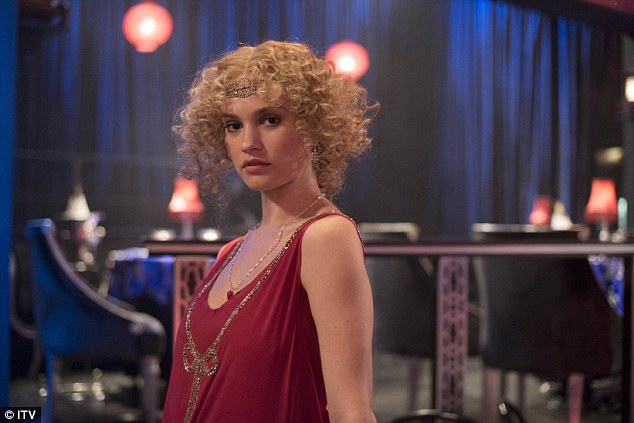 Red hot: In Sunday's episode saw viewers new arrival Lady Rose makes a dazzling introduction as an average of 10.1 million people tuned into the finale of series three