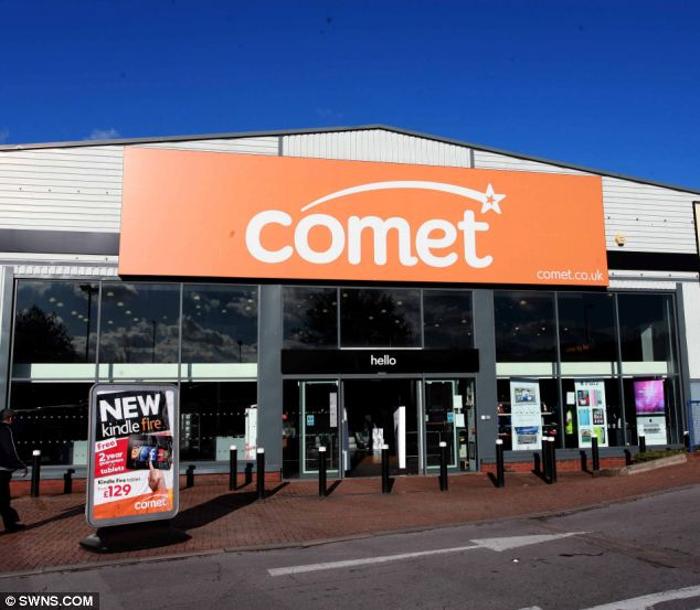The Comet store in Plympton, Devon, which refused to accept four-year-old Samuel Horton's gift card