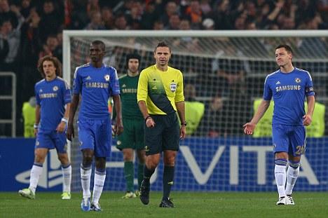 Revenge mission: Chelsea were beaten in Ukraine