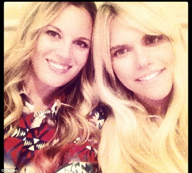 Lauren Scruggs tweeted this picture yesterday saying: 'Doing some filming action. Long day. Fun day.'