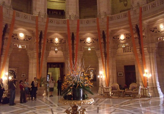 The Palace is one of the world's largest private residences and is part owned by Taj Hotels
