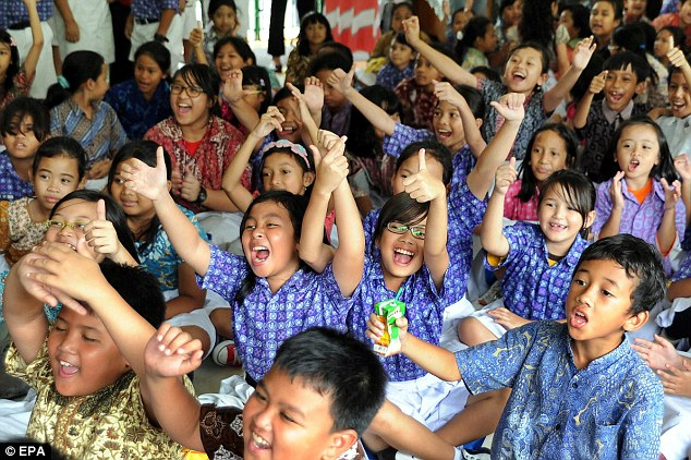 Go Obama: The President lived in the Menteng district of Jakarta between the ages of six and ten, and studied at the local elementary school