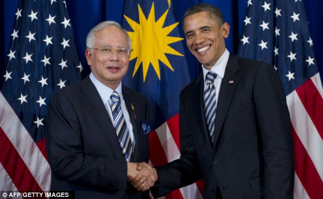 Malaysia's PM Najib Razak said President Obama could help foster respect between the U.S. and Muslims around the world