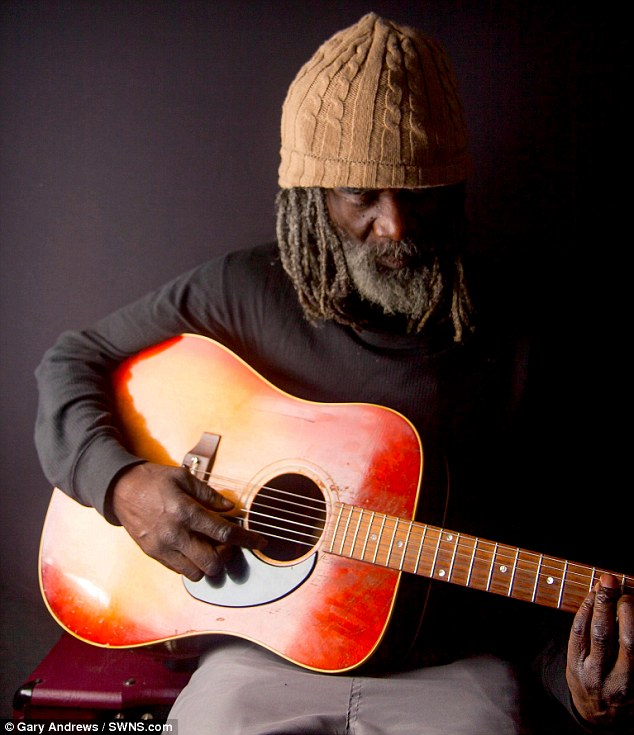 Busker Kenni Wenna, had lost all hope of hitting the big time, but 15 years later he has been given a record deal after an old demo was found in a garage