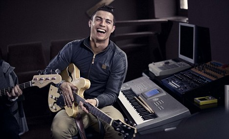 Famous: Ronaldo is known across the world