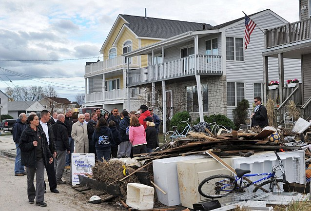 Many feel that Super-storm Sandy occurring so close to the election swung many voters in Obama's favour