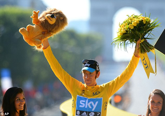 Hero: Wiggins was the first Briton to win the Tour
